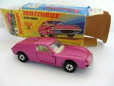 Matchbox Lesney Superfast 5 Lotus Europa.