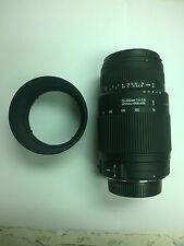 Sigma 70-300mm F4-5.6 DG OS Lens for Nikon D3000 D3100 D3200 D3300 D5000 D5500