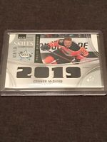 Connor McDavid 59/125 2019 SP Game Used Hockey Relic Blends All Star Skills Comp