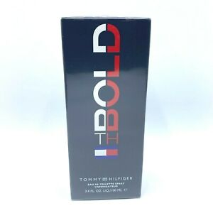 TH BOLD By Tommy Hilfiger Men Eau De Toilette Spray 3.4 OZ / 100 ML *NEW SEALED*