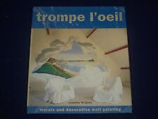 1997 TROMPE L'OEIL HARDCOVER BOOK BY LYNETTE WRIGLEY - GREAT MURALS - KD 3167