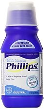 4 Pack - Phillips' Original Milk of Magnesia Liquid, 12 fl oz (355 mL) Each