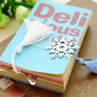 Crafts Book Magazine Accessories Snowflake Bookmarks Modern Crafts Bookmark