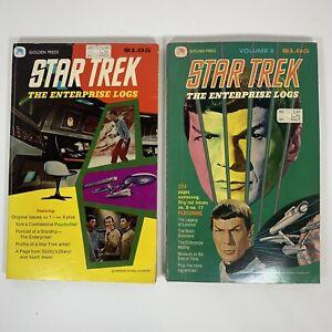 Star Trek The Enterprise Logs Vol. 1 & 2 (Issues 1-17) Golden Press Comics