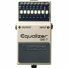 BOSS GE-7 Graphic Equalizer 7-band EQ Stompbox Guitar Effects FX Pedal
