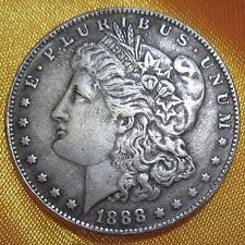 COPPER CORE 1888 American COINS Moore Morgan COINS 39MM