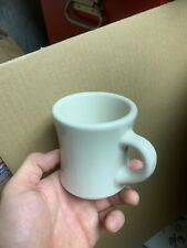 VTG VICTOR HEAVY THICK WHITE RESTAURANT WARE COFFEE MUGs