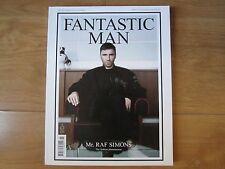 Fantastic Man Magazine 16 Raf Simons,Benjamin Eidem,Guerrino Santulliana New.
