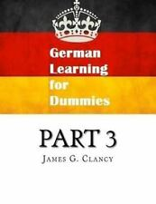 GERMAN LEARNING FOR DUMMIES - NEW PAPERBACK BOOK