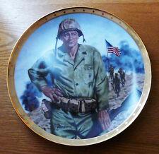 John Wayne Fanklin Mint Decorative Plate Symbol Of America Fighting Spirit