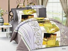 Modern Romantic Bedding Full/Queen Duvet Cover Set, Bed in a Bag Ar214Q