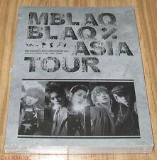 MBLAQ M-BLAQ THE BLAQ% TOUR ASIA CONCERT PHOTO BOOK PHOTOBOOK + DVD SEALED