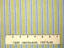 P&B Fabric Cotton Antebellum Yellow Stripe 1/2 Yards