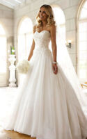 Custom Applique Wedding Dresses Bridal Gown Ball Party Prom Pageant Plus-Size