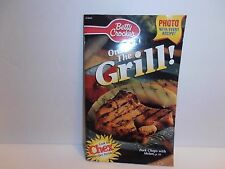 Betty Crocker On The Grill PB Cookbook 80 Pages Chex Recipes General Mills