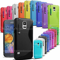 S-Line Gel Case Cover Wave Grip Pouch Back For Nokia Lumia Asha Phone Models