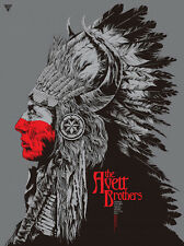 The Avett Brothers Poster 11/12/2015 Sioux City IA Ken Taylor S/N #/80 AE