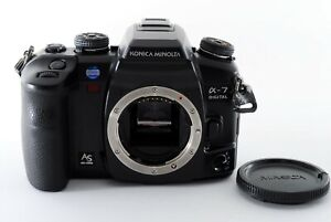[Near Mint] Konica Minolta α-7 Digital 6.0MP SLR Camera Body A Mount Japan 369