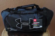 UNDER ARMOUR Unisex Storm 1 Water Resistant Duffle Bag Black Small
