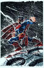Frank Miller SIGNED Superman DKIII  DC Art Print ~ Baltimore Comic Con Exclusive