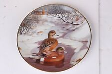 Knowles The American Wigeon Jerner's Duck Plate # 6 Living With Nature with Coa