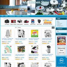 New Listingkitchen Store Home Based Online Affiliate Business Website For Sale Free Domain