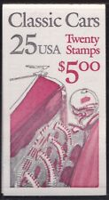 1988 United States/USA - Booklet N° 156 $5,00 Text Black and Red MNH