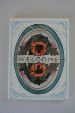 Joan Baker Designs Welcome Suncatcher - Preowned in Box