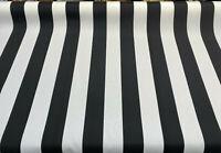 Black White Outdoor Luxury Stripe Solarium Richloom Fabric By The Yard