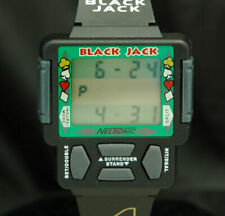 NELSONIC BLACK JACK LCD Digital VIDEO GAME WATCH RARE VTG NEW OLD STOCK NOS 80s