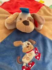 Security Blanket Plush Dog Puppy Taggies Signature Collection Red Sneakers Spot