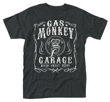 Gas Monkey Garage 'Flourish' T-Shirt - NEW & OFFICIAL
