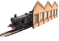 OO Gauge Ultra Low Relief Northlight Industrial Warehouse Model Railway Kits