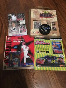 Assorted Sports Collectibles/Memorabilia Lot Griffey Trivia Lindros Gordon