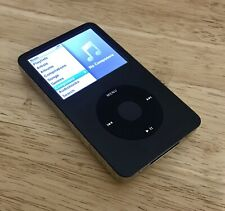 APPLE iPod Classic 7th Generation Black 120GB A1238 Used MP3 Personal Music