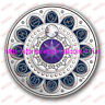 2017 Canada Zodiac Series#1 Capricorn $3 Pure Silver Coin with Swarovski Crystal