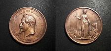 Napoléon III - Médaille - Visite de Lille le 26-29 aout 1867 superbe état !!