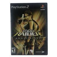 Lara Croft: Tomb Raider Anniversary (Sony PlayStation 2, 2007) Case & Disc