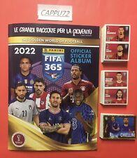 Album Panini CALCIATORI FIFA 365  2022 + SET COMPLETO 419  FIGURINE vers.ITALIA