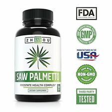Saw Palmetto Supplement For Prostate Health - Extract & Berry Powder Complex