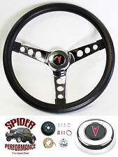 """1970-1992 Firebird and Trans Am steering wheel CLASSIC CHROME 13 1/2"""" GRANT"""