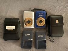 2-Canon Power Shot SD1300IS & 100HS Camera Charger with Batteries 12.1 MP
