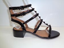 Arturo Chiang Size 6 M JAIN Black Leather Studded Sandals New Womens Shoes