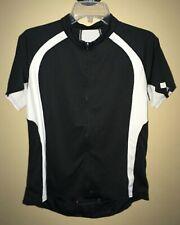Cannondale Classic Women's Full Zip Cycling Jersey Shirt Short Sleeve Black XL