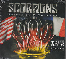 CD - Scorpions NEW Return To Forever Tour Edition 1 CD & 2 DVD's FAST SHIPPING !