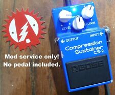 Modify your Boss CS-2 Compressor Sustainer (No Pedal) Effects Alchemy Audio Mod