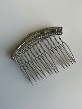 Debenhams Bridal Vintage Style Crystal Hair Comb In Mint Condition