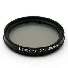 RISE (UK) 40.5mm CPL Circular Polarizer Polarizing Glass Filter for DSLR NEW
