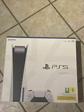 Sony PS5 Disc Edition Spielekonsole - Weiß - Neu - ⚡️Blitzversand ⚡
