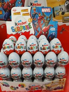 10x Kinder Chocolate Eggs With Surprise Toy Inside.